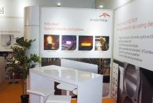 ArcelorMittal Messestand zur Euroguss 2016