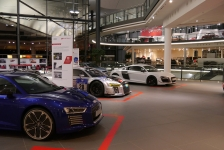 "Audi Motorsportausstellung ""Born on the track - Built for the road"""