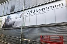 Fensterfolierung im Audi Forum Neckarsulm