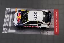 RX Weltmeisterauto im Audi Forum Neckarsulm