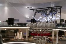 Weihnachtsdekoration Audi Forum Neckarsulm 2015